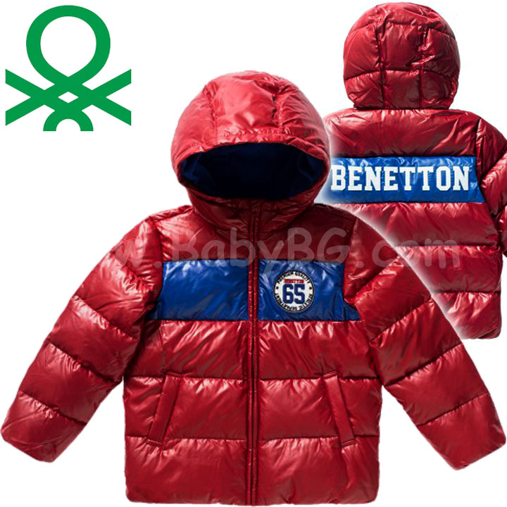 f849d169b6a Benetton · Benetton DOWN-FILLED JACKET - Детско яке Boys Red (82см.)