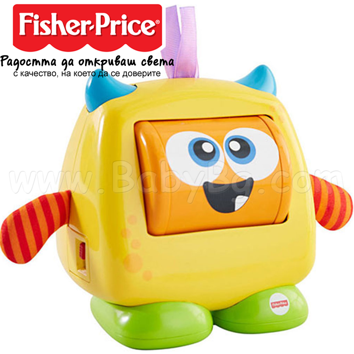 "Fisher Price Fun Feeling Monster Играчка ""Забавно чудовище"" DRG1"
