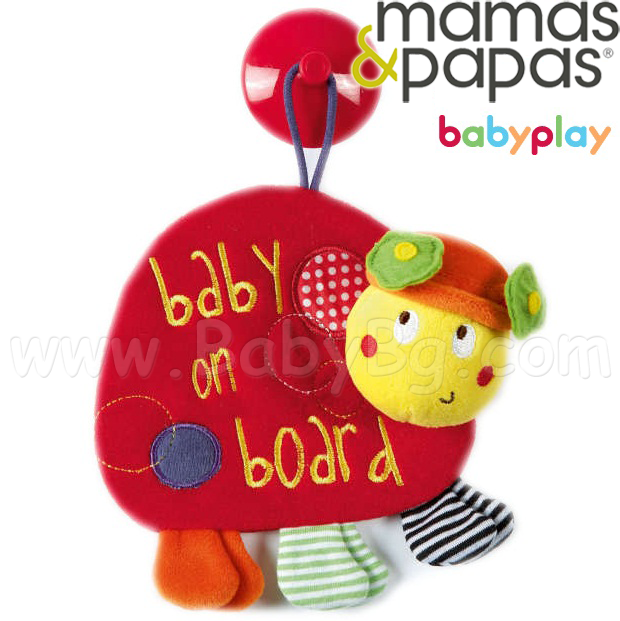 Mamas & Papas BabyPlay Играчка Baby On Board Lotty 754282731